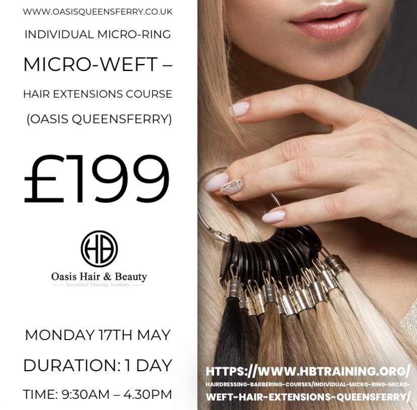 Hair Extensions course North Wales