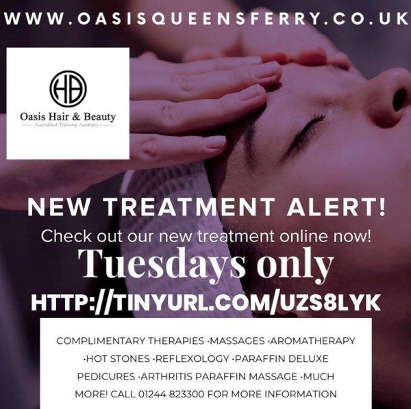 Tuesday Beauty Treatments Queensferry Beauty Salon