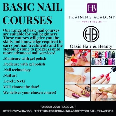 Nail Courses Now Available!