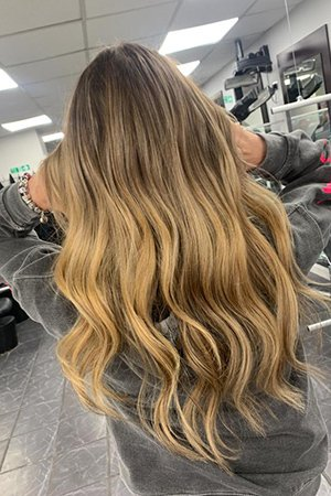 Ombrè Hair Colour at Oasis Hair & Beauty Salon in Queensferry, Flintshire
