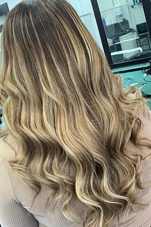 Balayage  Hair Colour at Oasis Hair & Beauty Salon in Queensferry, Flintshire