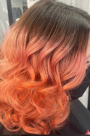 Stunning Hair Colour Oasis Hair & Beauty Salon in Queensferry, Flintshire