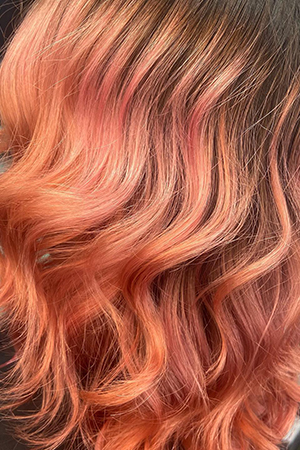 Beautiful Hair Colour Results at Oasis Hair & Beauty Salon in Queensferry, Flintshire