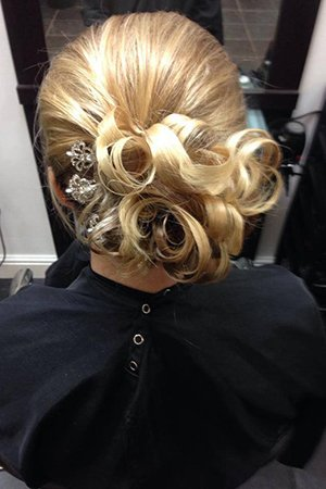 Beautiful Wedding Hairstyles At Oasis Hair & Beauty Salon in Queensferry, Flintshire