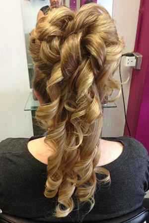 Stunning Wedding Hairstyles At Oasis Hair & Beauty Salon in Queensferry, Flintshire